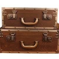 Vintage trunk set