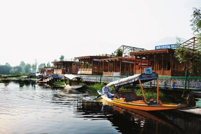 Houseboats of Lake Dal, Kashmir