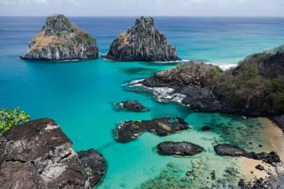 12. The coast of Brazil, South America