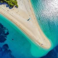 1. Zlatni Rat, Bol, island of Brač, Central Dalmatia