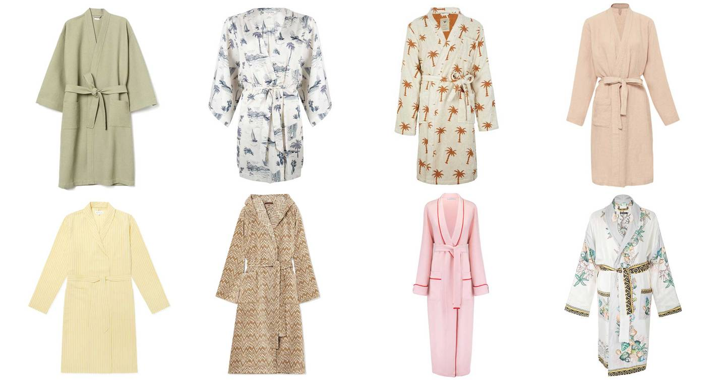 Recreate a holiday vibe at home with these 14 robes