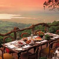 &Beyond Ngorongoro Crater Lodge