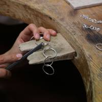 Jewellery making at the London Jewellery School