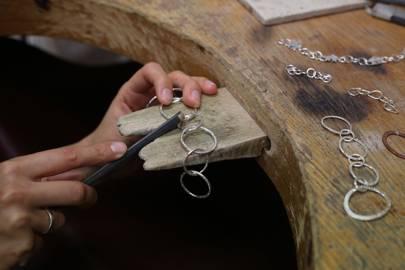 Jewellery making at the London Jewellery School
