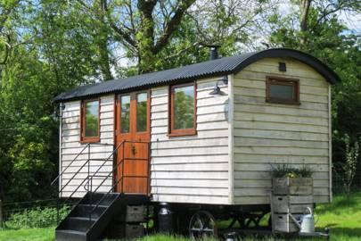 Len's Hut, Glastonbury