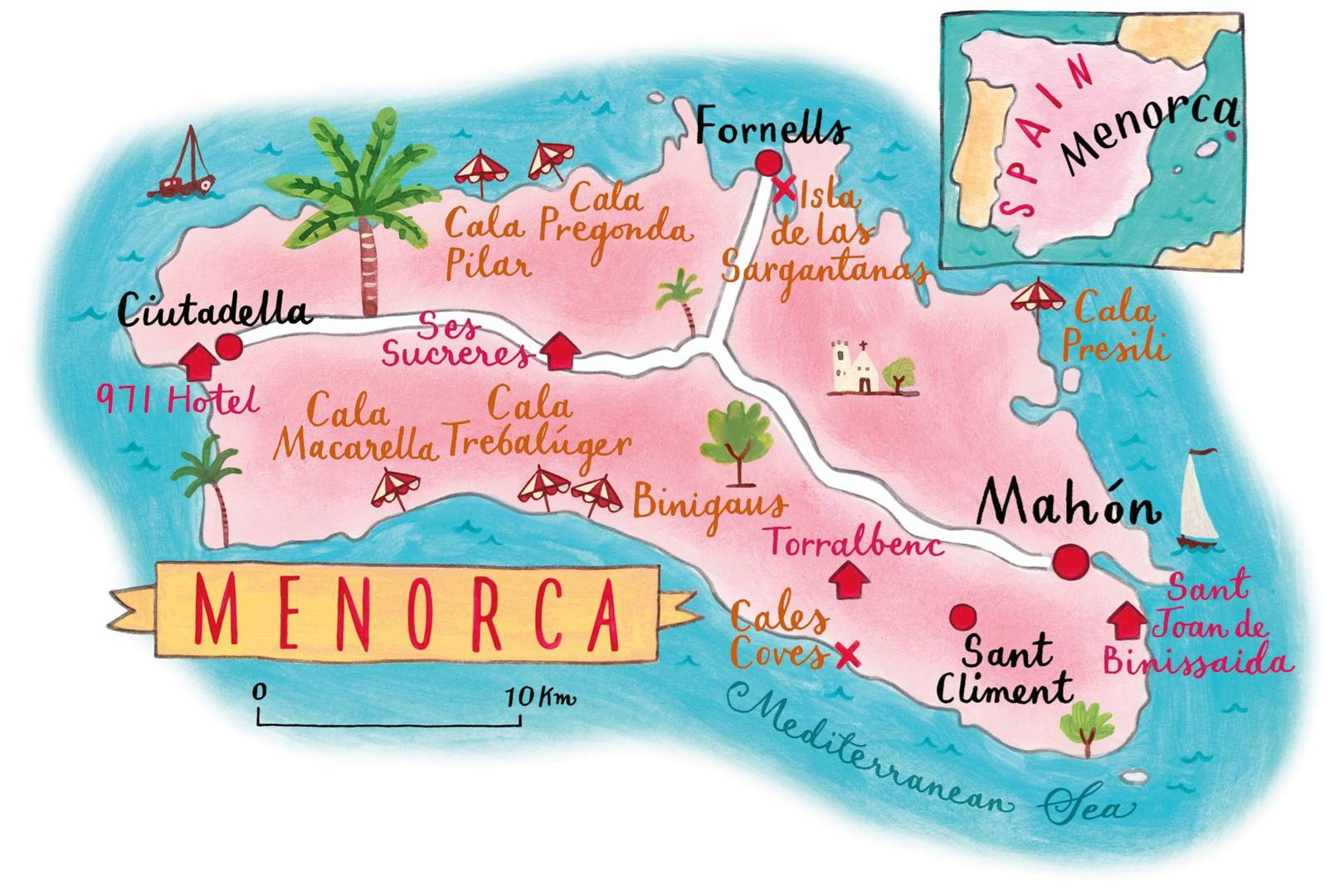 Menorca | Secret beaches and places to visit | CN Traveller