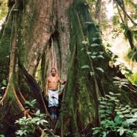 The Huaorani village