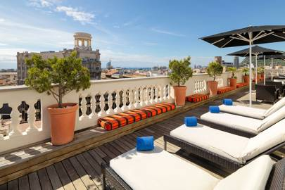 Sunset Lounge at H10 Montcada Hotel