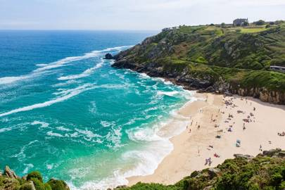7. Porthcurno Beach