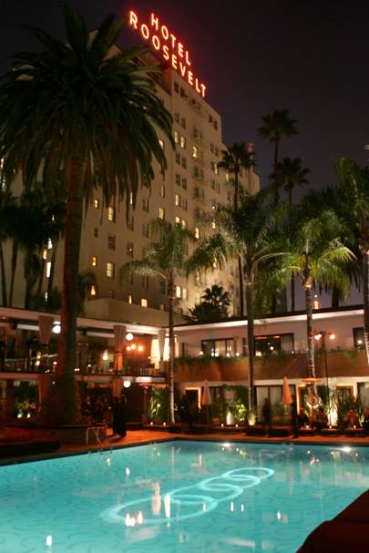 Hollywood Roosevelt Hotel, Los Angeles, California