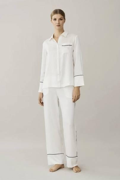 3. Silk pyjamas