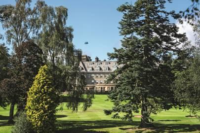 Gleneagles Hotel, Perthshire, Scotland