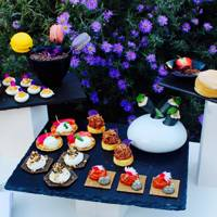 Afternoon tea at the Serpentine Sackler Gallery