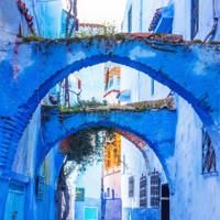 7. Chefchaouen, Morocco
