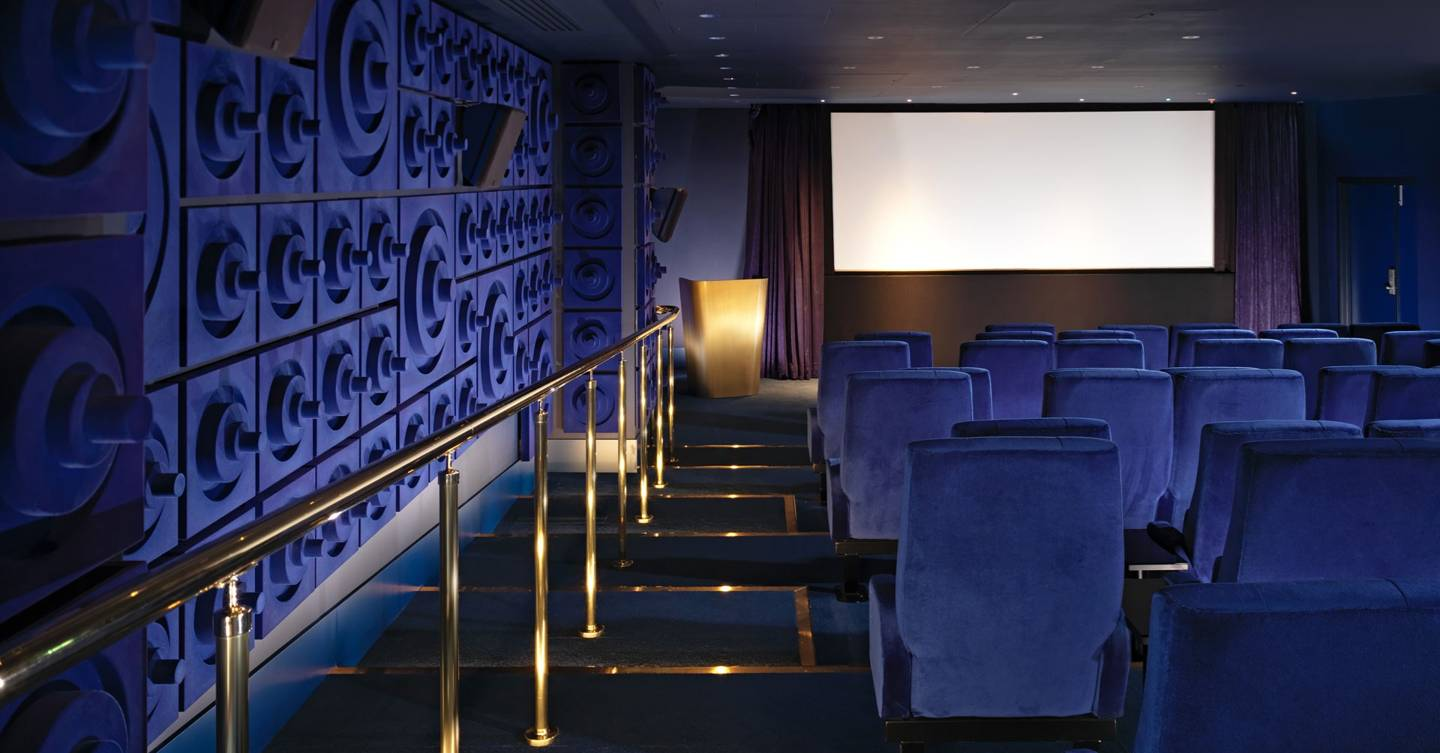 The Best Hotels With In House Cinemas Where To Watch Films In London Cn Traveller