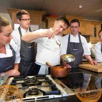 Learning holidays: cookery courses