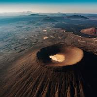 7. Take otherworldly photographs at the Harrat Rahat lava field