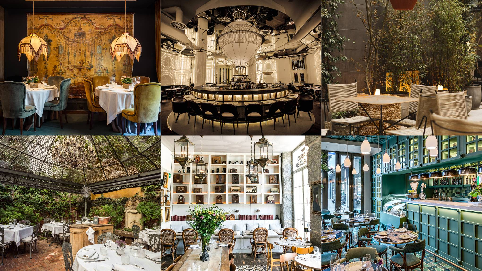 The 10 most beautiful restaurants in Madrid