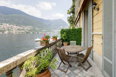 A villa on Lake Como, Italy