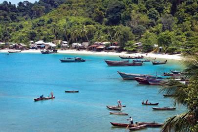 The Moken island people of Burma