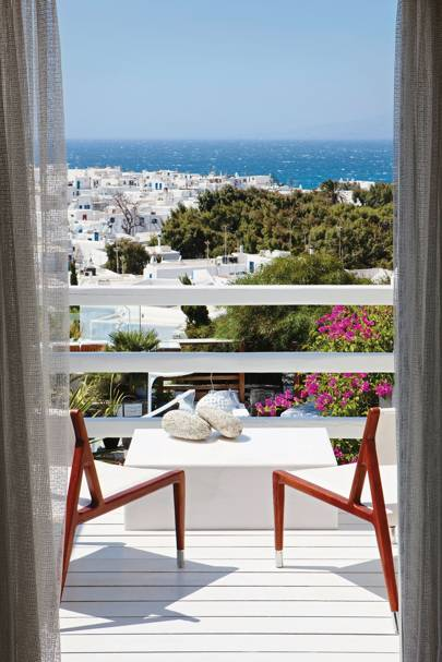 BELVEDERE, MYKONOS, Greece