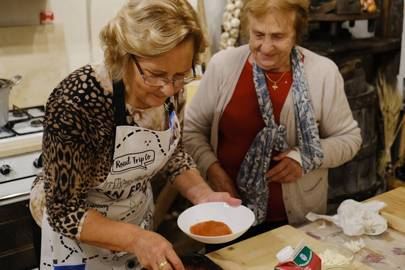 9. Learn to cook pasta the old-fashioned way with an Italian nonna