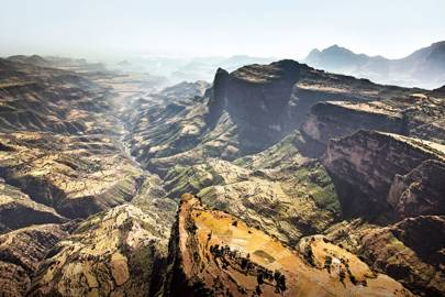 A helicopter safari of Ethiopia