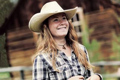 Wrangler/cowgirl Shannon McGrath