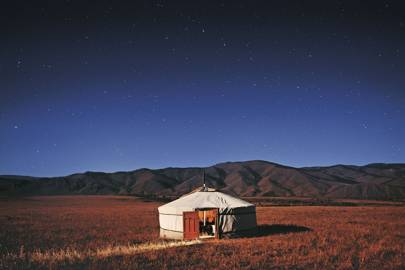 JALMAN MEADOWS GER CAMP,  CENTRAL MONGOLIA