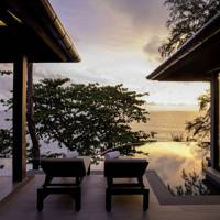 A villa terrace at Hotel Pullman Phuket Arcadia Naithon Beach