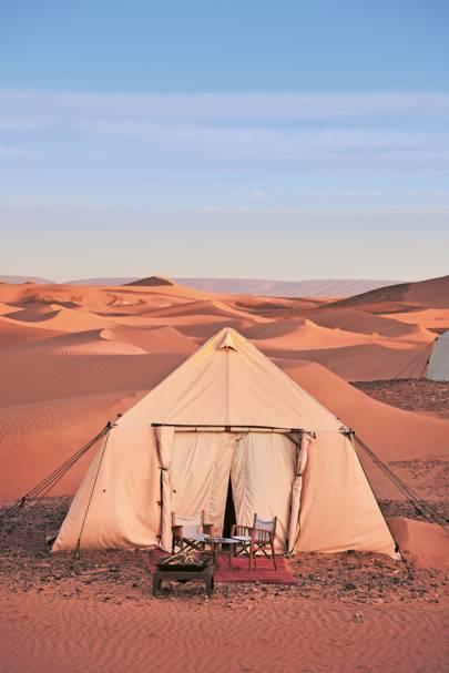 DAR AZAWAD DUNE CAMP, SAHARA, MOROCCO