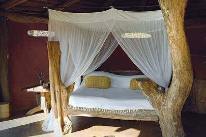 Bedroom at Tassia lodge