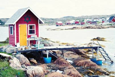 Getting to Fogo Island, Canada