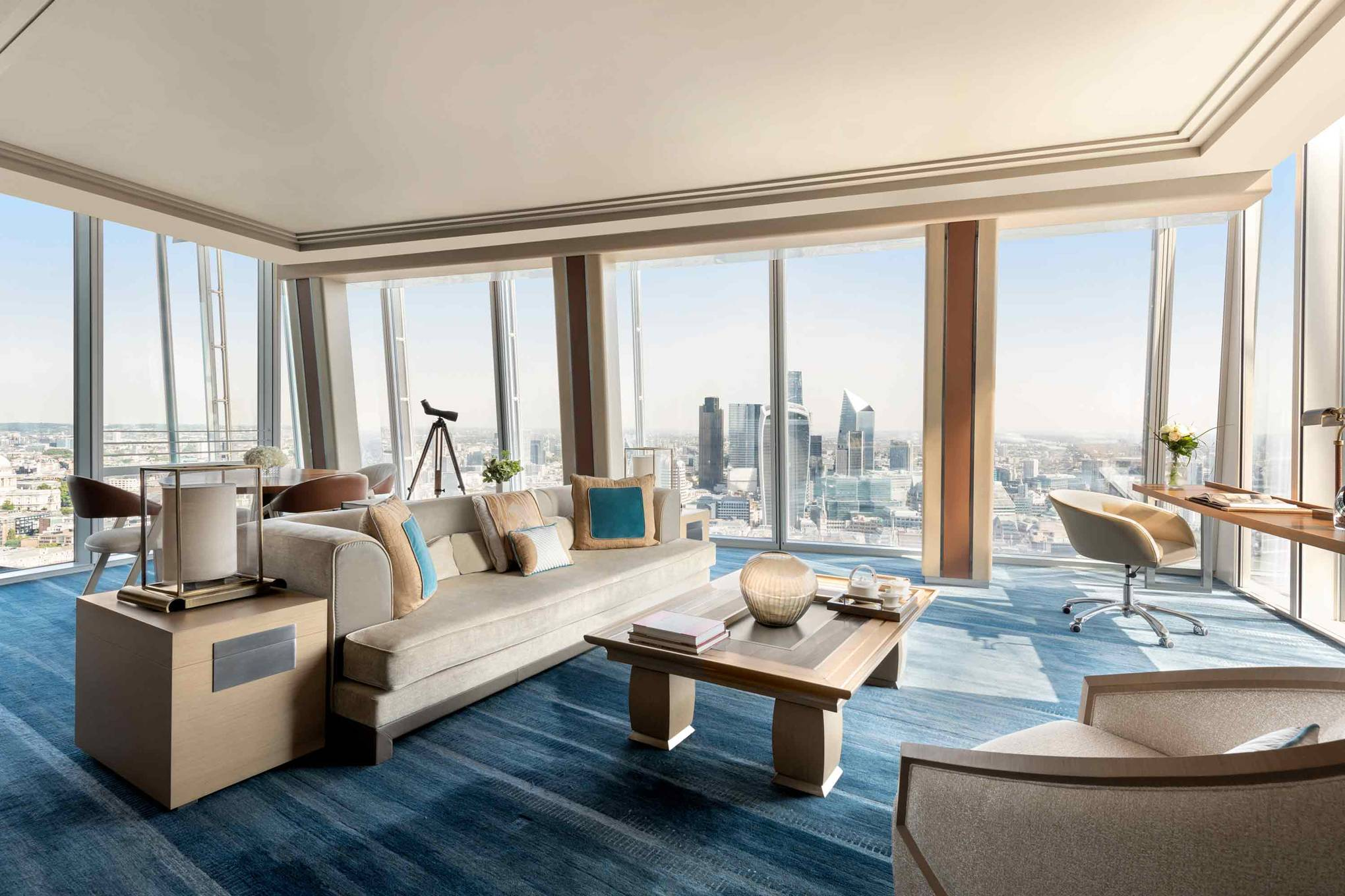 Shangri-La at the Shard: the hotel with the best views in London?