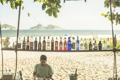 Quiosque Atlantico, Rio de Janeiro, Brazil