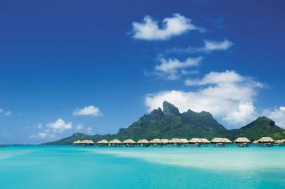Best overseas leisure hotels: Four Seasons Resort Bora Bora, French Polynesia