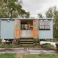 Remote shepherd's hut