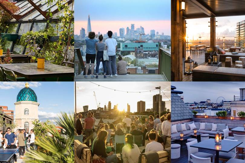 rooftop bars london