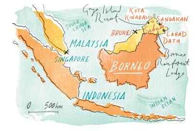 Getting to Borneo