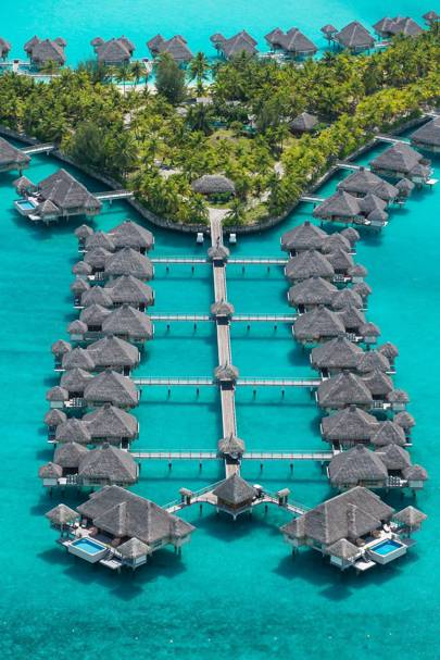 12. The St. Regis Bora Bora Resort, French Polynesia. Score 77.91