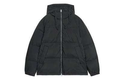 Arket down puffer jacket, £175