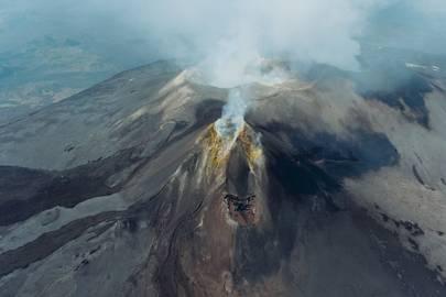 Walking Mount Etna