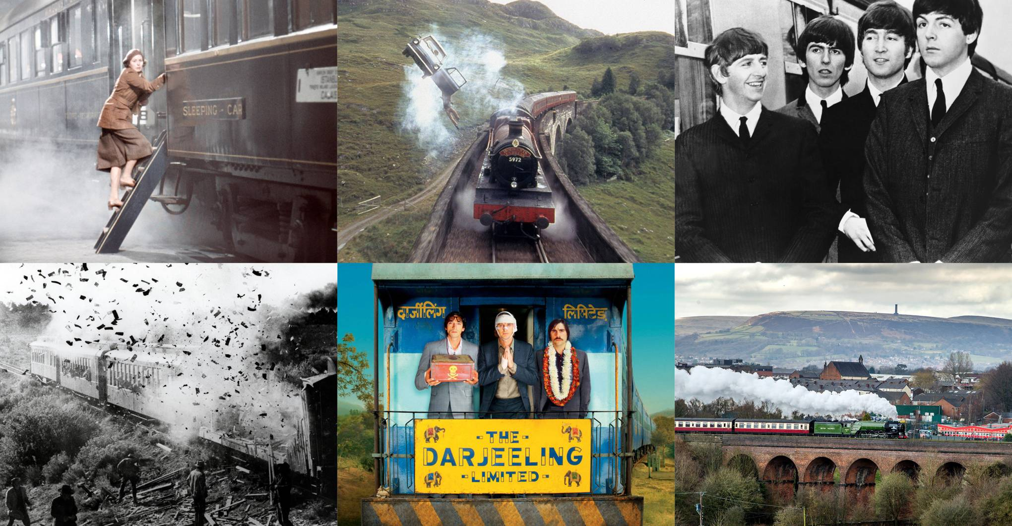 9¾ great film train rides you can enjoy in real life