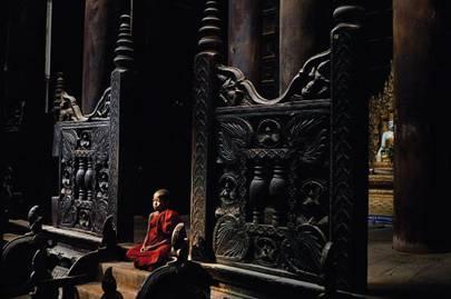 Pagodas and monasteries