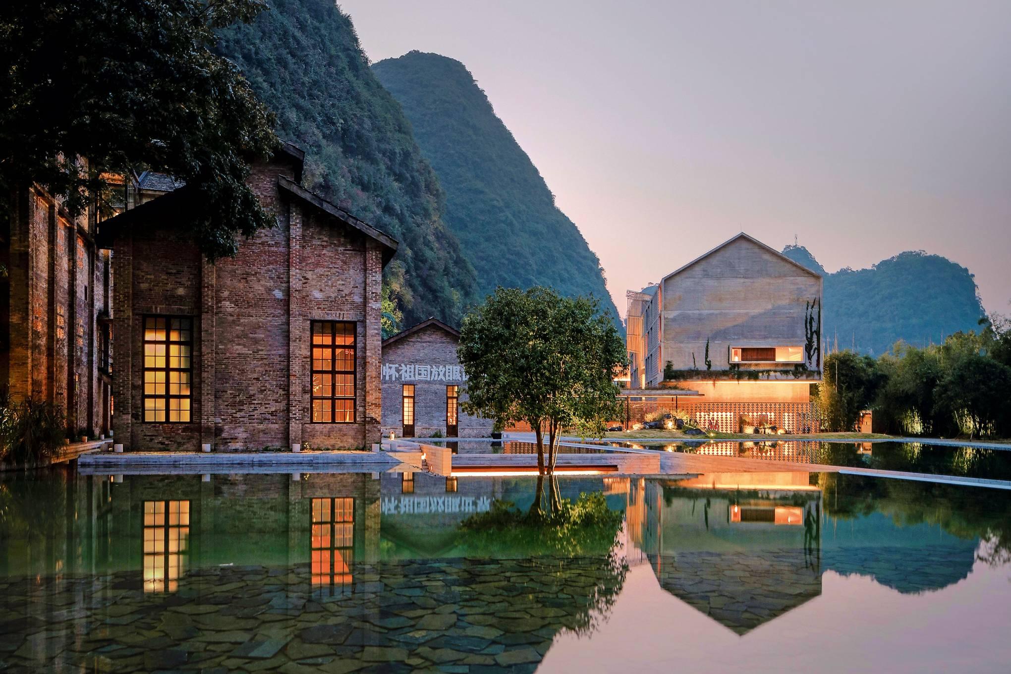 Yangshuo China Modern House