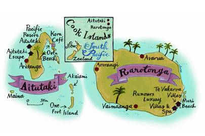 how to get to cook island nsw