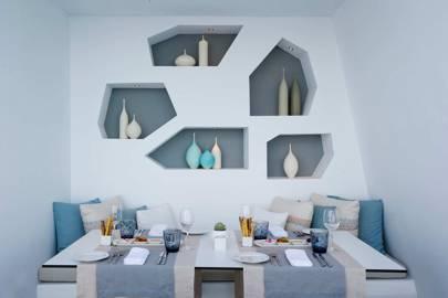 Signature Home Velvet Hangers Aqua Haze//Gold