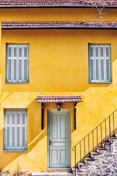 A house in Milies, Pelion