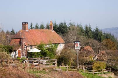 The Duke of Cumberland Arms, between Haslemere and Midhurst