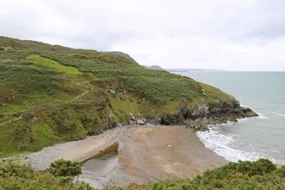 Traeth Soden (Cwm Silio), Cardigan, Ceredigion